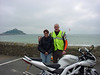AndyW (CVAM Web Manager) and SWMBO!, Marazion Cornwall - St Michael\'s Mount in the background